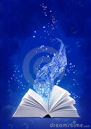 Free Book Of Water Magic Stock Images - 9318004