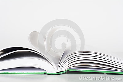 Book - Pages making Heart