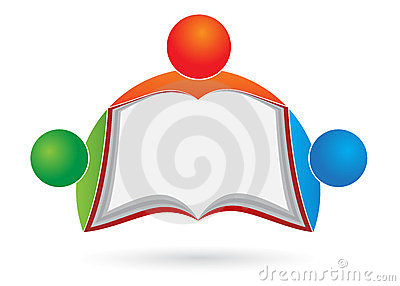 Book reader logo