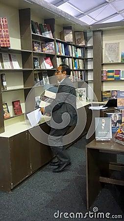 Free Book Sales Man Royalty Free Stock Photos - 98826848