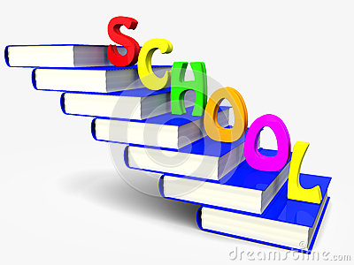 Book and school
