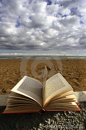 Book and sea
