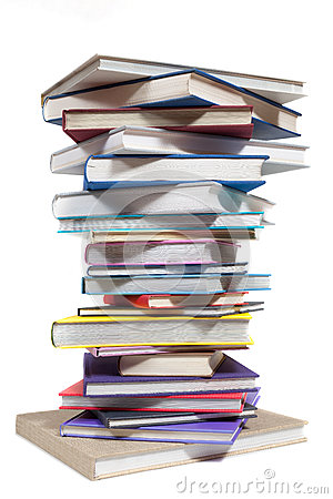 Free Book Stack Royalty Free Stock Photography - 42401227