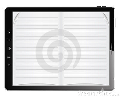 Book in Tablet PC