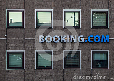 Booking.com s Offices in Amsterdam Editorial Image