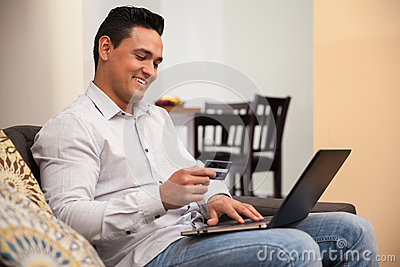 Booking a trip online
