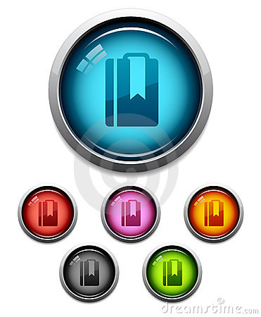 Bookmark button icon