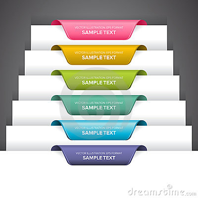 Free Bookmark Labels Stock Photography - 22132772