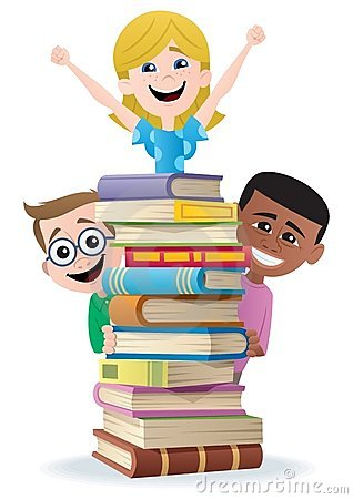 Free Books And Kids Royalty Free Stock Photo - 20762055
