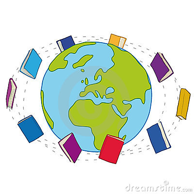 Books Around The World Stock Image Image 22302531
