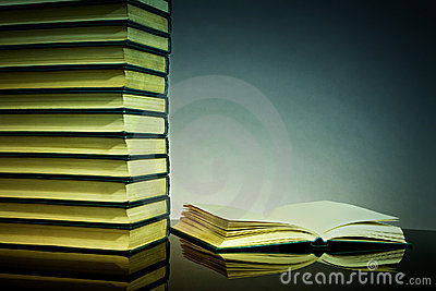 Books Background Stock Photo - Image: 15876900