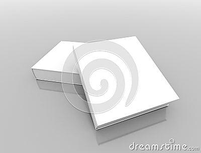 Books blank