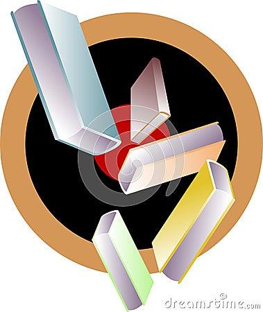 Books emblem