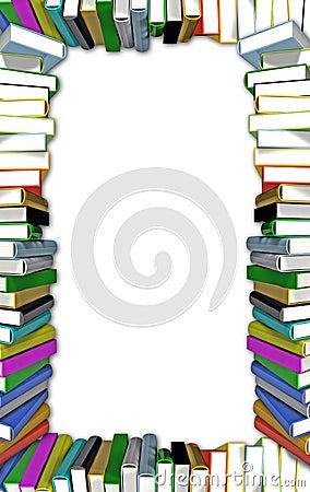 Books frame
