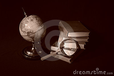 Books and Globes V