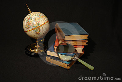 Books and Globes VI