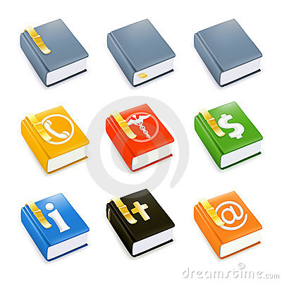 Books,  icon set