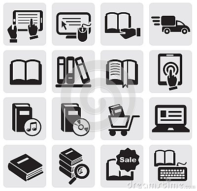 Free Books Icons Stock Images - 25584424