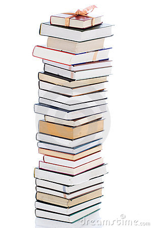 Free Books In Gift Packing Isolated On A White Royalty Free Stock Image - 4532656