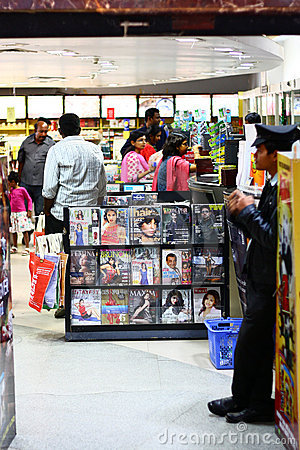 Books and Magazine Store in Forum Mall Bangalore Editorial Stock Photo