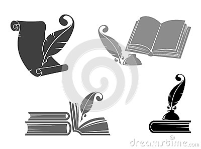 Books and quills
