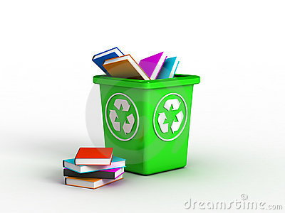 Books in recycle bin