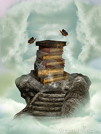Books in the sky