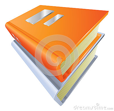 Books stacked closed illustration icon clipart