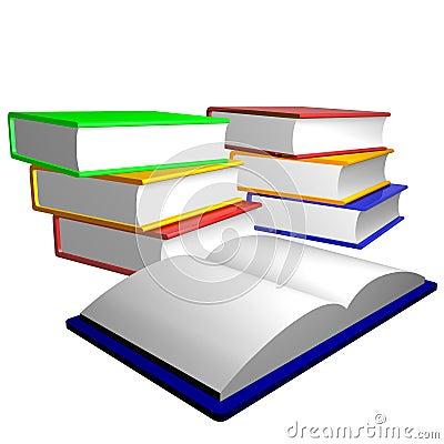 Books stairways to knowledge