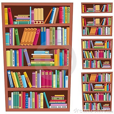 Free Bookshelf Royalty Free Stock Photos - 20442908