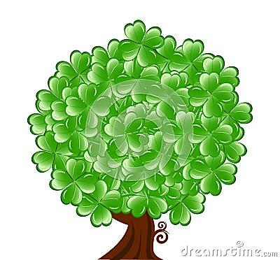 Boom voor St. Patrick Dag met vier le