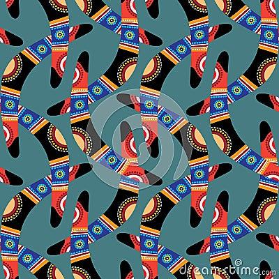 Boomerang Seamless Pattern