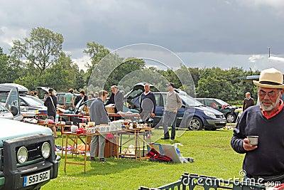 Boot Fair Stall Editorial Photo