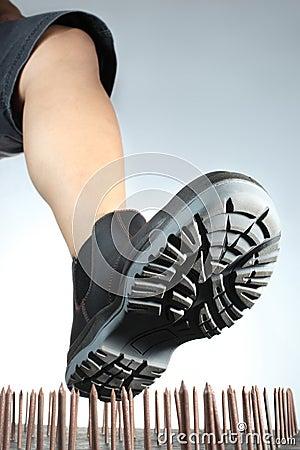 Boot Nails trap