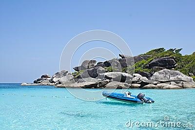 Boot rock, eighth similan island