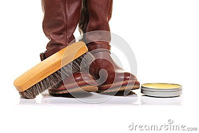 Boot waxing