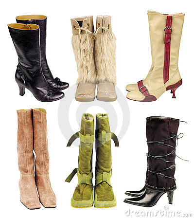 Free Boots Royalty Free Stock Images - 6855089