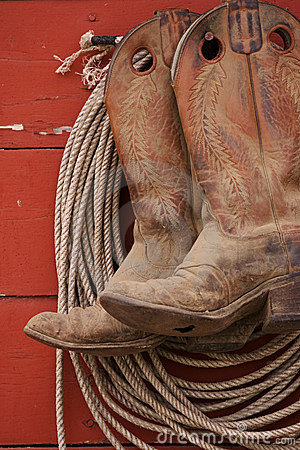 Free Boots And Rope Stock Photo - 459990