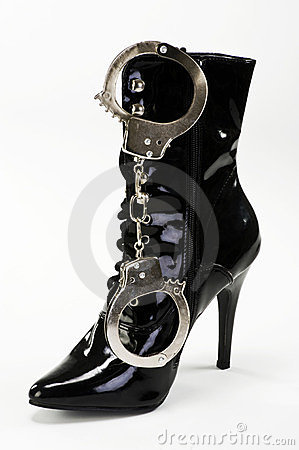 Boots and Handcuff.