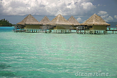Bora Bora summer resort