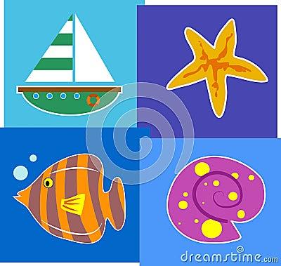 Bord de la mer