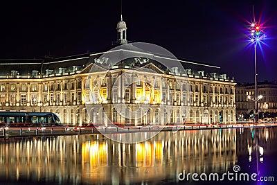 Bordeaux stock echange square