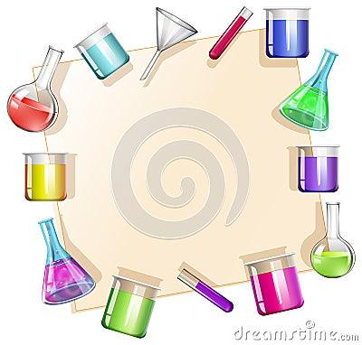 border with beakers background vector illustration scientist clip art for kids scientist clip art for kids