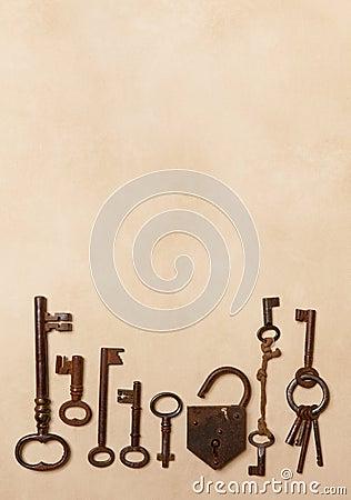 Border of keys