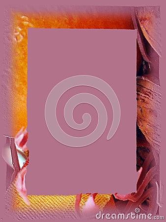 Border: Lavender Fall