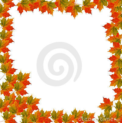Border Leaf background for Autumn