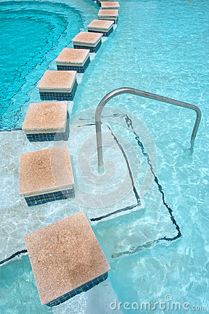 Free Border Of A Pool In Hot Springs Spa Royalty Free Stock Image - 30682676