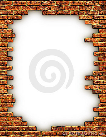 Free Border Of Bricks Royalty Free Stock Photos - 3532948