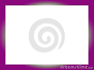 Border: Purple & CrissCross