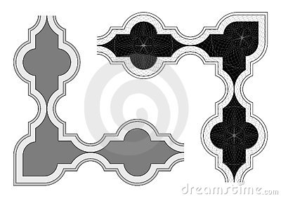 Border secure design vector
